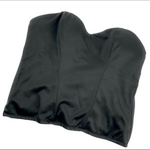 Victoria's Secret Corset in Satin Black
